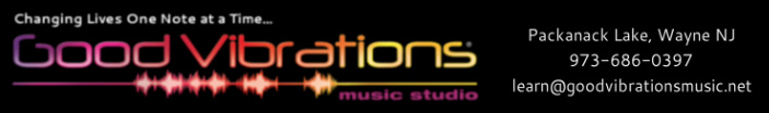 Virtual Music Lessons - Good Vibrations Music Studio